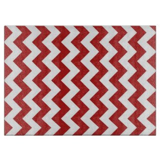 Red and White Zigzag