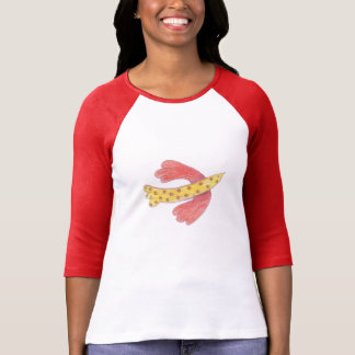 red and yellow bird T-Shirt