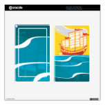 Red and yellow Chinese Junk Kindle Fire Skin