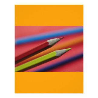 Red-and-yellow-crayons1412 PENCIL CRAYONS COLORFUL Full Color Flyer