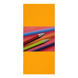 Red-and-yellow-crayons1412 PENCIL CRAYONS COLORFUL Custom Rack Card