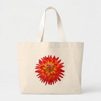 Red And Yellow Dahlia Bag