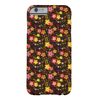 Red and Yellow Floral Vector Beauty iPhone6 Case