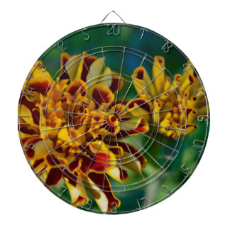 Red and Yellow Flower (Close-up) Dartboards