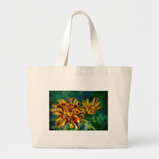 Red and Yellow Flower (Close-up) Large Tote Bag