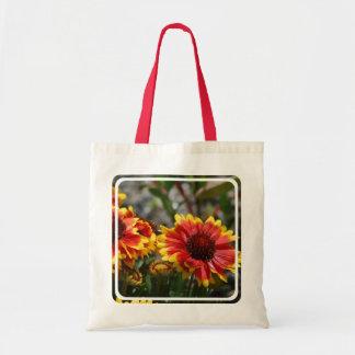Red and Yellow Gaillardia Tote Bag