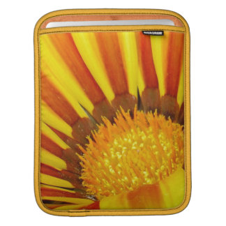 Red and Yellow Gazania Sleeve For iPads