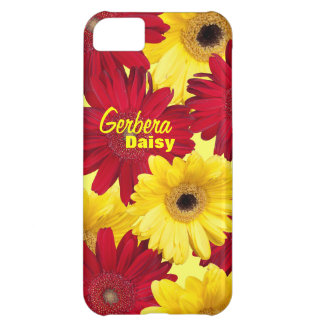 Red and Yellow Gerber Daisy Photograph iPhone 5C Case