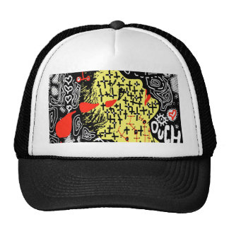 Red and Yellow Girl hat
