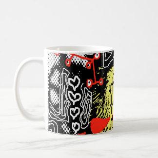 Red and Yellow Girl mug