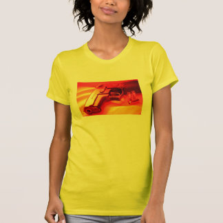 Red and Yellow Gun Tee