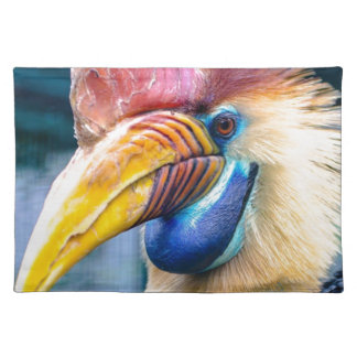 Red and Yellow Hornbill Placemat