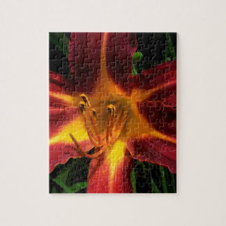 Red and Yellow Lilly Puzzle