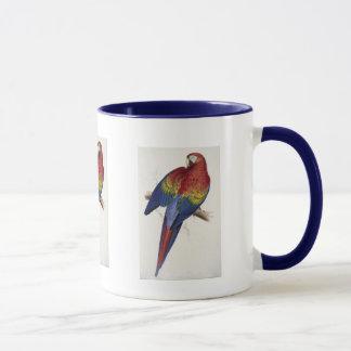 Red and Yellow Maccaw Mug