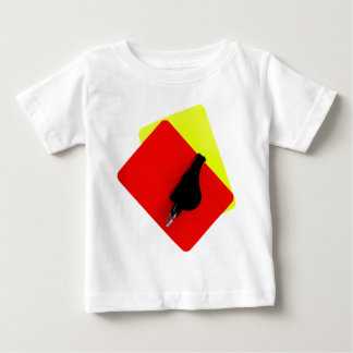 red and yellow map t shirt
