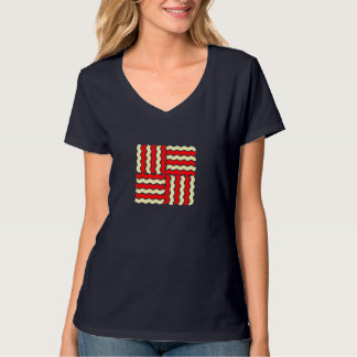 Red and Yellow Pattern Tshirt