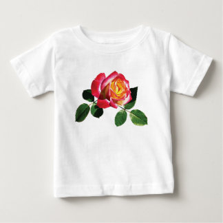 Red and Yellow Rose Infants Infant T-shirt
