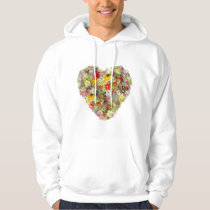 Red and yellow Spring Flowers Hoodie