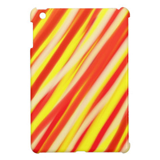 Red and Yellow stripes pattern | Abstract art iPad Mini Covers