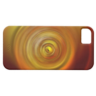 Red and Yellow Swirl Background iPhone 5 Case
