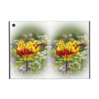 Red and Yellow Tulip with Butterfly iPad Mini Case