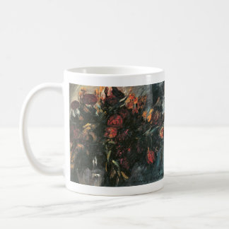Red and yellow tulips by Lovis Corinth Mugs
