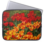 Red and Yellow Tulips Computer Sleeves