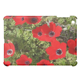 Red Anemone of Adonis Cover For The iPad Mini