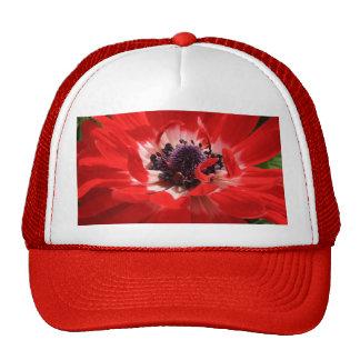 Red Anemone Trucker Hat