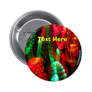 Red Ang Green Lights Pinback Button