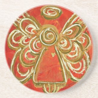 Red Angel Coaster