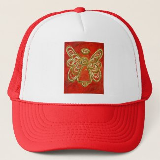 Red Angel Hat