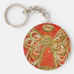 Red Angel Keychain