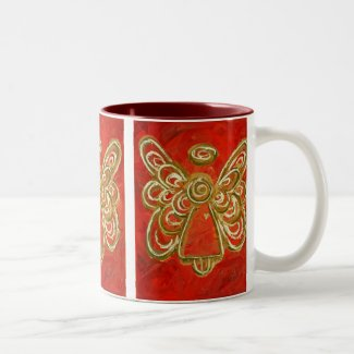 Red Angel Mug