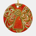 Red Angel Ornament