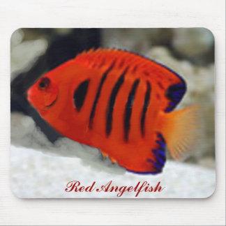 Red Angelfish Mousepad