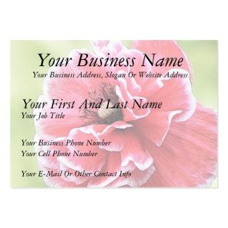 Red Angel's Choir Poppy Business Card