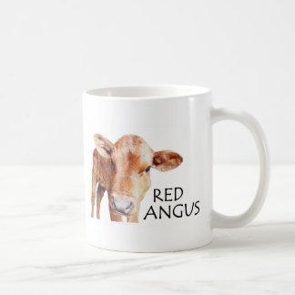 Red Angus Coffee Mug