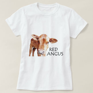 Red Angus Tee Shirt