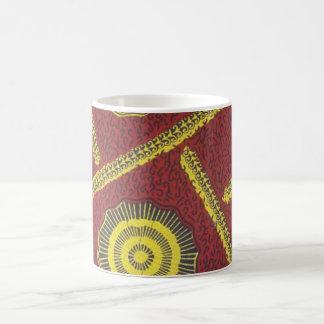 Red Ankara Mug