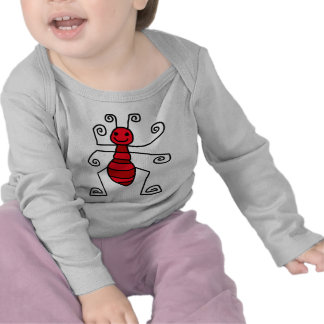 Red ant t-shirts