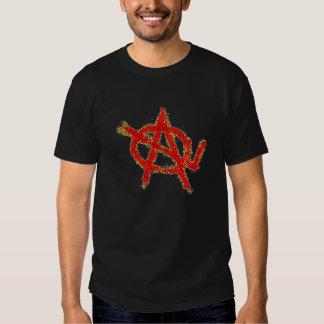 red AOL T-shirt