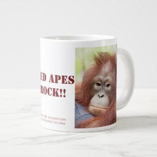 Red Apes Rock - Doctor Ann Orangutan Giant Coffee Mug