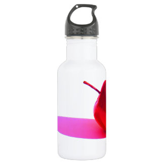 Red Apple and Shadow 18oz Water Bottle