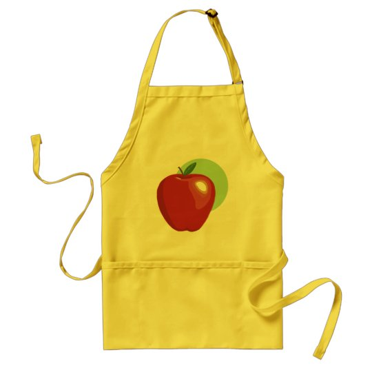 Red Apple Apron