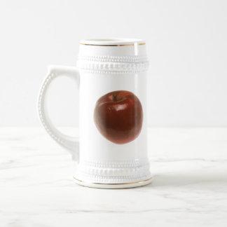 Red Apple Beer Stein