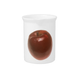 Red Apple Beverage Pitcher