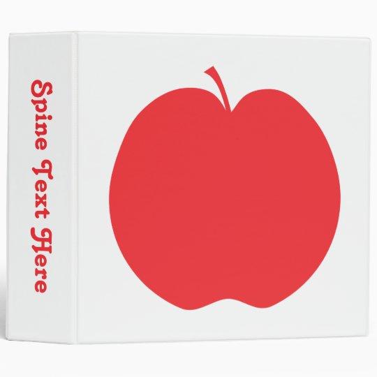Red Apple. Binder