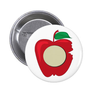 Red Apple Button