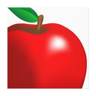 Red Apple Canvas Print